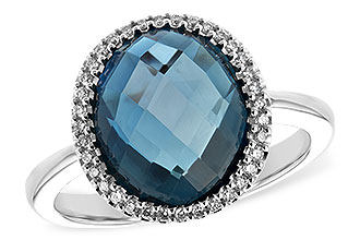 A234-56924: LDS RG 5.31 LONDON BLUE TOPAZ 5.45 TGW