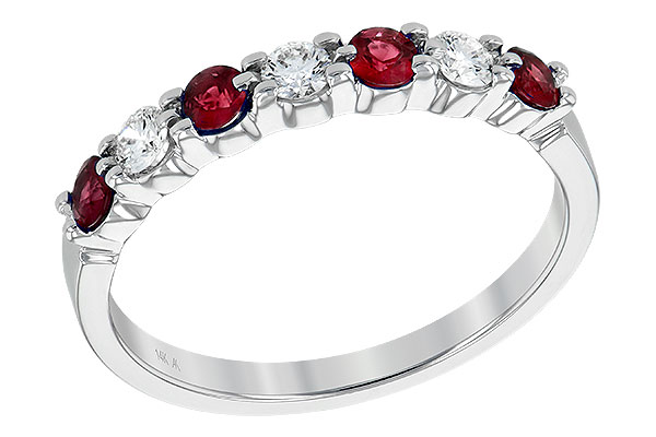C230-98769: LDS WED RG .35 RUBY .55 TGW