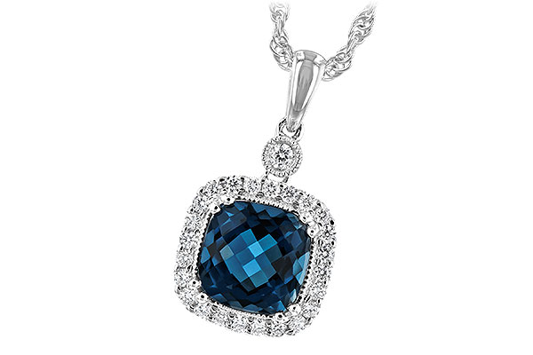 C234-56006: NECK 1.63 LONDON BLUE TOPAZ 1.80 TGW