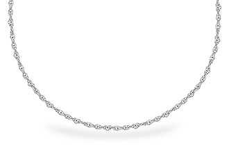 D318-25106: 1.5MM 14KT 18IN GOLD ROPE CHAIN WITH LOBSTER CLASP