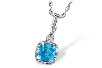 G231-88769: NECK 1.03 BLUE TOPAZ 1.05 TGW