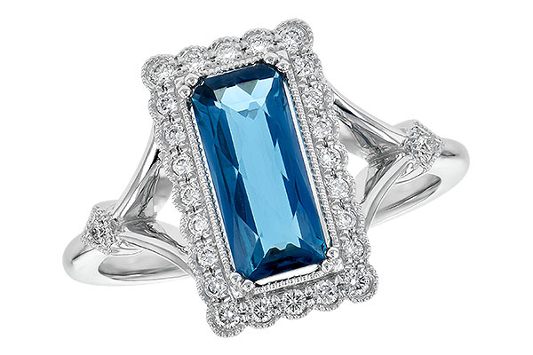 M235-51532: LDS RG 1.58 LONDON BLUE TOPAZ 1.75 TGW